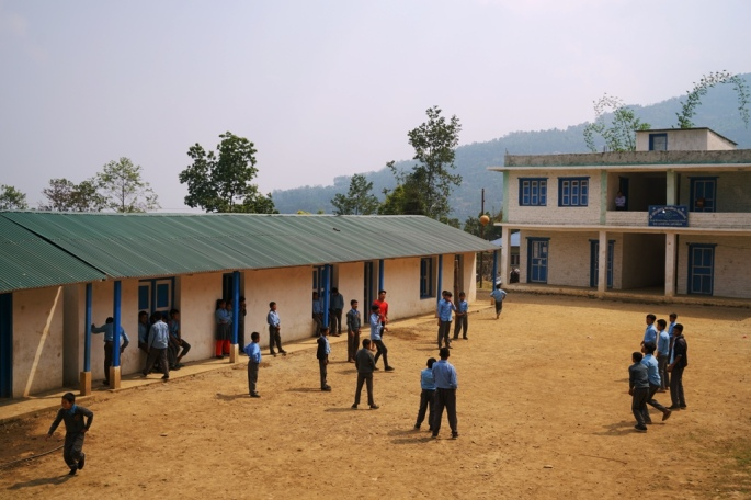 Mukli new school building completed