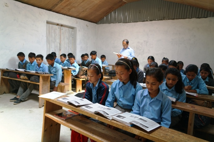 new building classroom